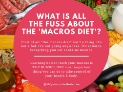 WHAT IS ALL THE FUSS ABOUT THE 'MACRO DIET'-
