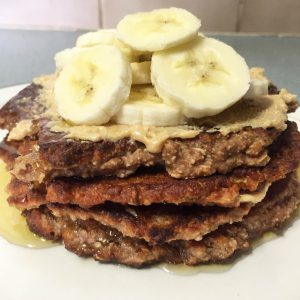 high protein banana oatcakes